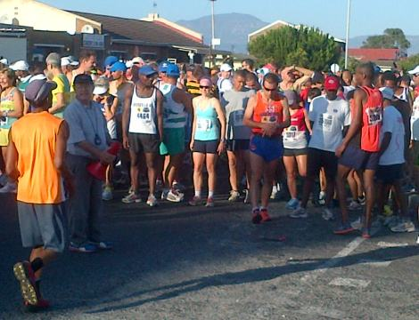 Gugulethu 10km start line