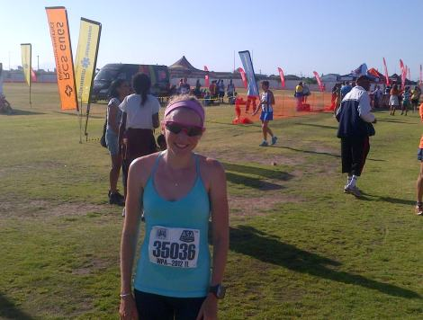 Gugulethu 10km finish