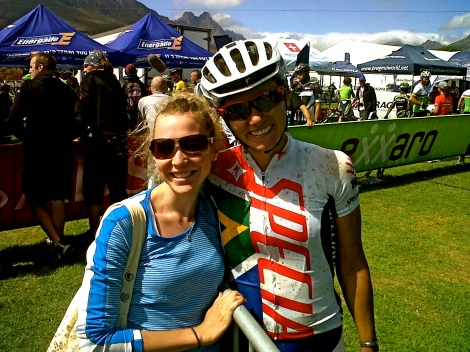 Cherise Stander and I.