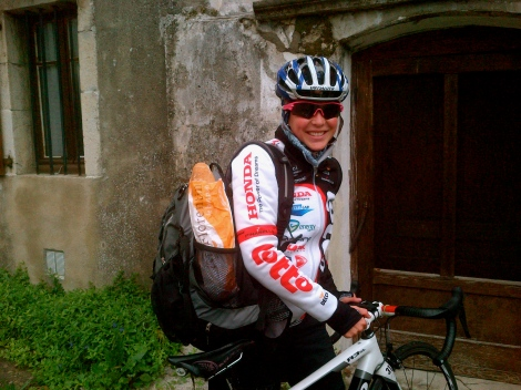 Getting my baguette on...