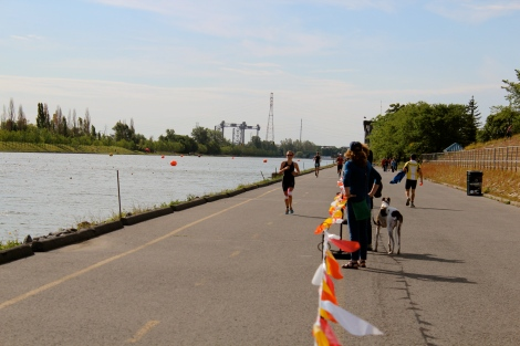 First lap of the 10km.