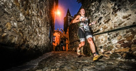 No it's not me…but running through cobbled alleys made the run course a highlight.