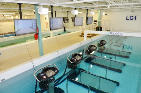 LiquidGym treadmills
