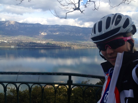 A sunny outlook over Lac Bourget.