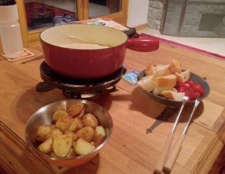 Vegan fondue!