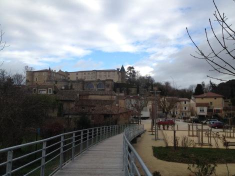 Le château de Montéléger