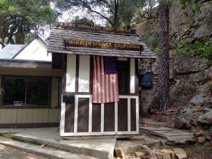 USA's smallest post office.