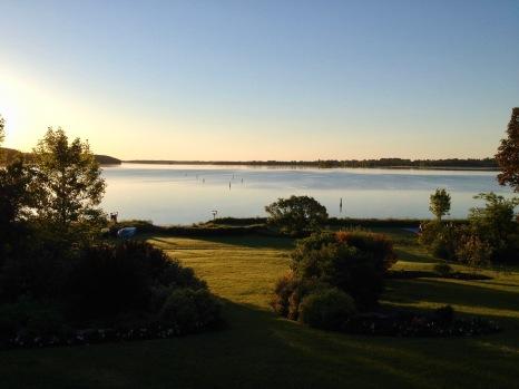 Upper Rideau Lake from Westport, Ontario